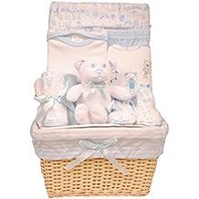 Bee Bo cesto bambino Set regalo 0-3 mesi - cucciolo di cane, Avvolgere, Tuta corpo, (Cesti Bambino Di Vimini)
