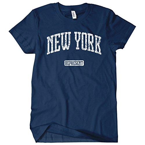 Smash Transit - T-shirt - Col Rond - Manches Courtes - Femme Bleu Marine