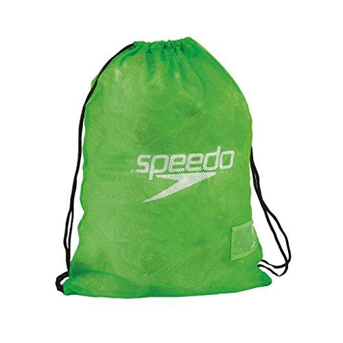 Mainline Speedo Tasche Equipment Mesh Bag, Fluo Green, 27 x 12 x 3 cm, 35 Liter, 8-07407A650ONESIZE