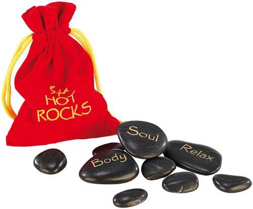 Preisvergleich Produktbild newgen medicals Hot Stones - Wärmesteine für Wellness & Entspannung