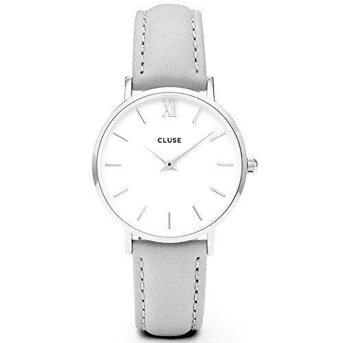 Cluse Damen Armbanduhr Analog Quarz Leder CL30006