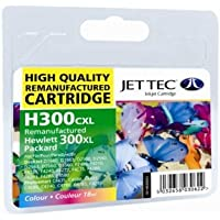* Jettec * HP No.300XL Ink Cartridge 3-Colour CC644EE (101H030031)