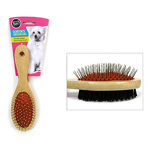 world-of-pets-gordons-grooming-double-sided-grooming-brush