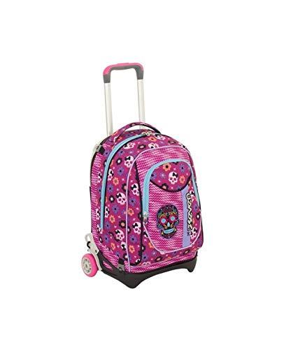 ee8c6a49c4 Trolley seven new jack - mexi girl - rosa - sganciabile e lavabile - scuola  e
