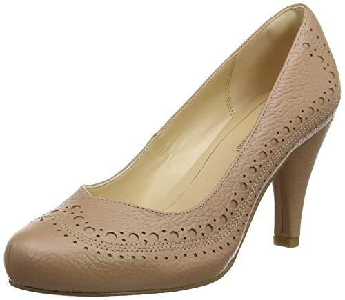 Clarks Dalia Ruby, Zapatos Tacón Mujer, Hueso Nude