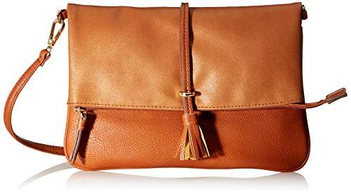 TOM TAILOR für Frauen Taschen & Geldbörsen Umhängetasche Shelly Cognac/Brandy, OneSize