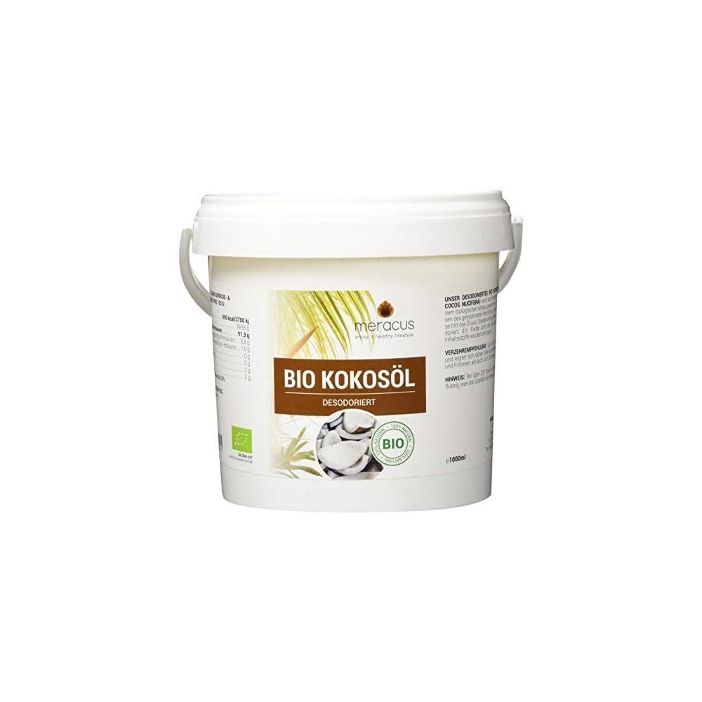 Meracus Bio Kokosl Geschmacksneutral Desodoriert Im Eimer 1er Pack 1 X 1 L