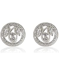 Aastha Jain Cubic Zircon Sterling Silver Earring For Women