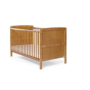 Baby Elegance Travis Cot Bed (Antique Pine) QZQKQ *Material: Linen cloth, steel pipe *Suitable for 0-12 months baby, most comfortable height for you to take care of your baby *Quick and easy folding or collapsible by folding mechanism 10