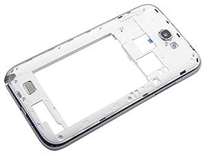 Samsung Galaxy Note 2 N7100 Rahmen Mittelrahmen Gehäuse Frame Cover Schale Weiß