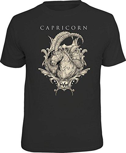 Original Sternzeichen Geschenk T-Shirts für den Horoskop-Fan: Steinbock - Größe L
