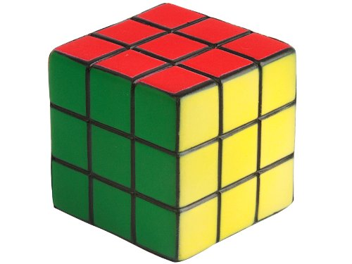 Wanted Stress Cube Rubber