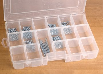 18 Compartment Medium Storage Container by Storehouse (Store House-storage-container)