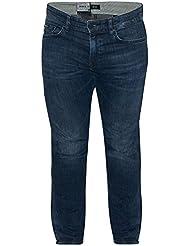 Hugo Boss Mens Delaware2 rinçage bleu Jeans