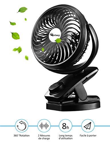 Zoom IMG-1 merisny mini ventilatore usb da