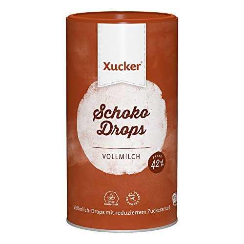 750 g Xucker Schokoladen-Drops 'Vollmilch'