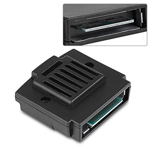 YUnnuopromi Memory Jumper Pak Expansion Pack ErsatzTeile für Nintendo 64 SpielKonsole Schwarz Booster Jumper-kabel