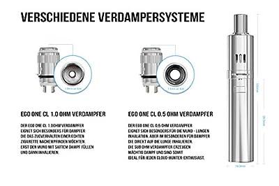 eGo ONE Verdampferkopf - 1.0 Ohm - 5 Stück von DampfMarie