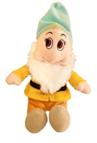 Disney Plüsch MAMMOLO Pimpel Bashful Sieben Zwerge 35cm Peluche - Der auf dem Hut geschriebene Name ist auf Italienisch - Original Offiziell