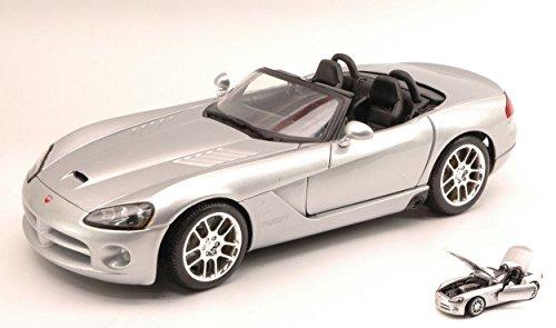 maisto-mi31632s-dodge-viper-srt-10-2003-silver-118-modellino-die-cast-model