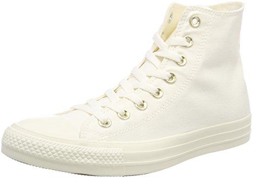 Gold 40 EU Converse Ctas Hi Sneaker a Collo Alto Unisex Adulto Scarpe v2j