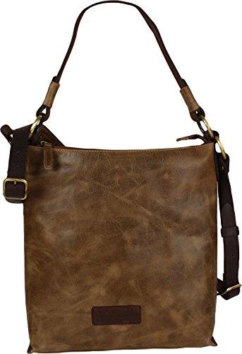 Harold's Stag Sac à main - porté épaule cuir 30 cm 23 olive