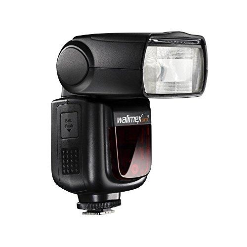 Walimex Pro Speedlite LithiumPower 58 HSS i-TTL Systemblitz für Nikon