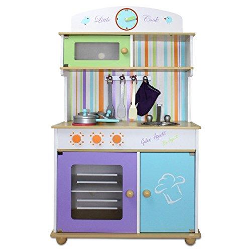 *Froggy® Kinderküche Spielküche BTK01 aus Holz*