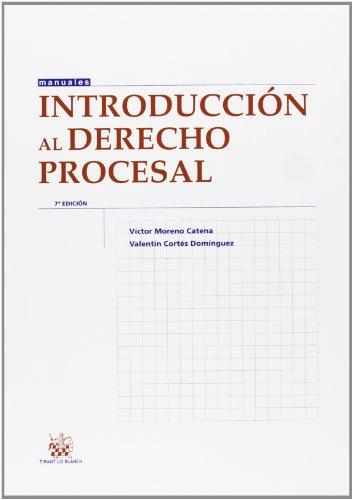Introducción al derecho procesal 7ª Ed. 2013 (Manuales de Derecho Procesal)