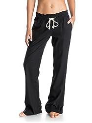 Roxy Women Oceanside Pant, Black (Anthracite), Large
