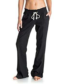 Roxy Women Oceanside Pant, Black (Anthracite), Large 0