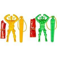4 x Fallschirmspringer Spielzeug Geburtstag Tombola Mitgebsel Giveaway Großhandel & Sonderposten