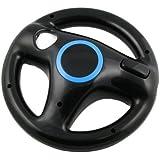 Nintendo Wii Steering Wheel for Wii Mario Kart Racing Game(Black)