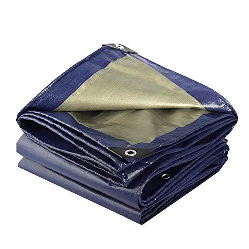 RCHYY Persenning Schatten Tuch Anti-UV Verdicken Wasserdicht Geeignet for Swimmingpool Dach Pergola Auto-Abdeckung (Size : 6x7m)
