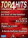 4 TOP HITS 3 VOLKSMUSIK SCHLAGER - arrangiert für Keyboard - (Akkordeon) [Noten / Sheetmusic]