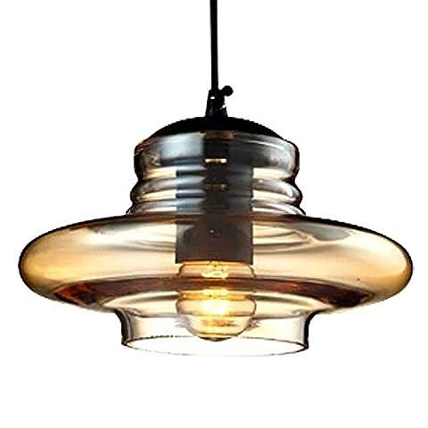 YYHAOGE Decorative Chandelier, Vintage Chandelier, Glass Pendant Lamp