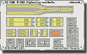 Eduard Accessories 3259030502000P de 38L Lightning Cinturón de Seguridad para Trumpeter Montar 02227