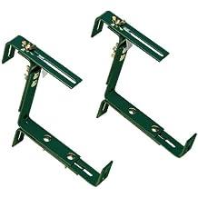 Emsa 5957000500 Vario - Ganchos para macetas, color verde