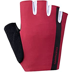 SHIMANO Value Gloves red 2019 Fahrradhandschuhe