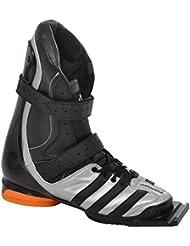 Adidas Performance Adistar Jump de ski Jumping Saut à ski Ski Vol, 132993, Couleur: Argent/Noir/Orange–taille 422/3