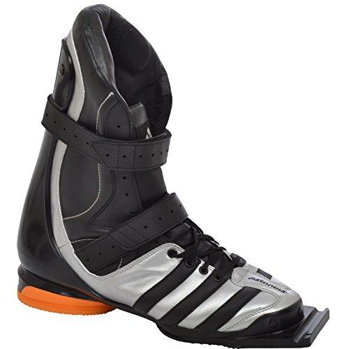 Adidas Performance Adistar Jump de ski Jumping Saut à ski Ski Vol, 132993, Couleur?: Argent/Noir/Orange-taille 422/3