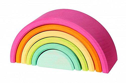 ArcoIris pequeño en tonos pastel