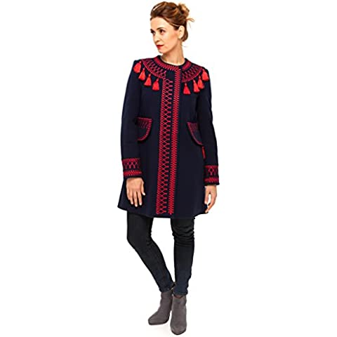 Boho Style Dress -  Cappotto  - (Red Barn Ranch)