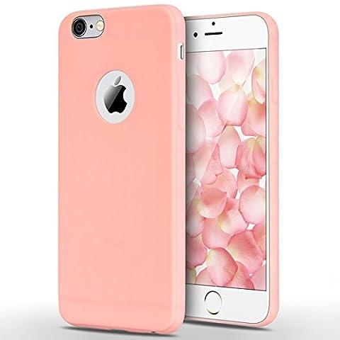 Coque iPhone 6 Plus / iPhone 6S Plus, Yokata Solide Mat Anti-Fingerprint Case Housse Étui Soft Doux TPU Silicone Flexible Backcover Ultra Mince Coque -