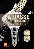 Méthodes et pédagogie PLAY MUSIC PUBLISHING TAUZIN BRUNO - LA BASSE EN AUTODIDACTE - NIVEAU DEBUTANT + CD Guitare basse...