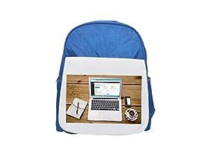 diseños wordpress: Portátil, Wordpress, Wordpress diseño impreso Kid 's azul mochila, para mochilas...