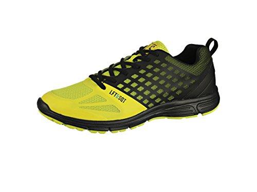 LIFT&SQUAT , Chaussures pour homme spécial sports en salle noir/jaune