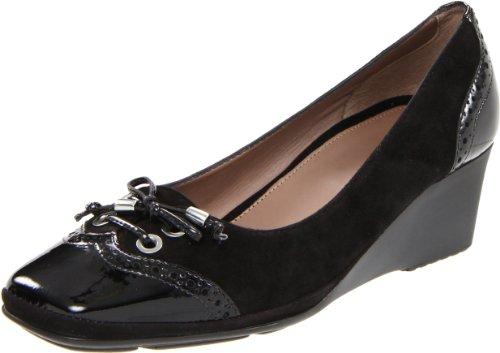 Geox ,  Damen Pumps , Schwarz - Schwarz - schwarz - Größe: 37