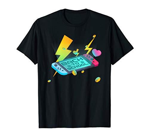 Spiel vorbei Zurück zur Schule Video Game Controller Cool  T-Shirt