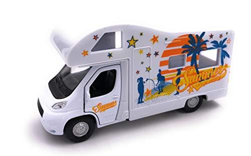 H-Customs Welly Summer Cumper Wohnwagen Modellauto Auto Wohnmobil 1:34-1:39